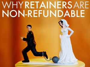 non-refundable retainers, photography