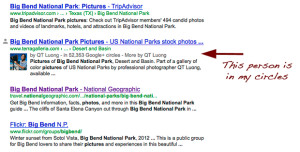 big bend search results